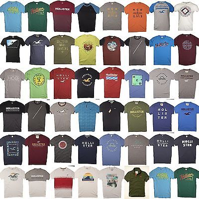 Nwt Hollister By Abercrombie And Fitch Mens Graphic Tee T Shirt