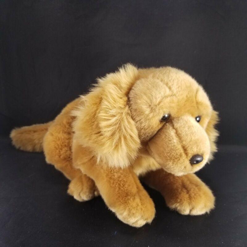 "Animal Alley Yellow Labrador Golden Retriever Plush Puppy Dog Stuffed Animal 16"""