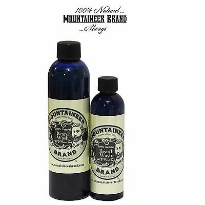 Mountaineer Brand Beard Wash  Wv Pine Tar