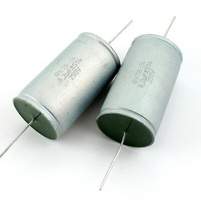 6.2uf 250v 5 Matched Pair Audiophile Grade Capacitors For Speaker Crossovers