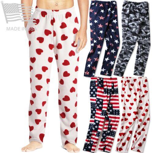 New Mens Flannel Fleece Pajama Pant Lounge Pants Size S M L Xl Xxl Sweatpants
