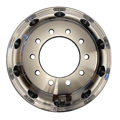 NEW 22.5x8.25 Aluminum HD Truck Trailer Wheel Rims Hub Alcoa Style Dually 10 LUG