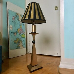Vintage Art-Deco/Circus Style Table Lamp