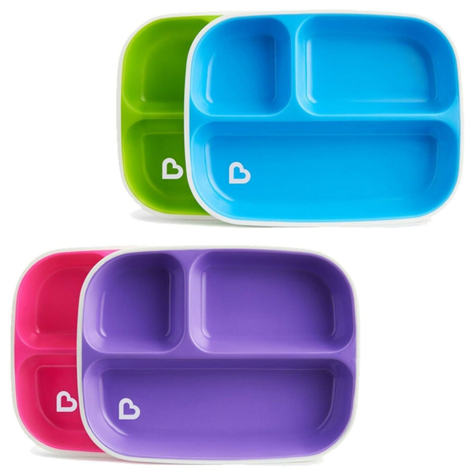 DESIGNS MAY VARY NEW MUNCHKIN SPLASH BOWLS X2