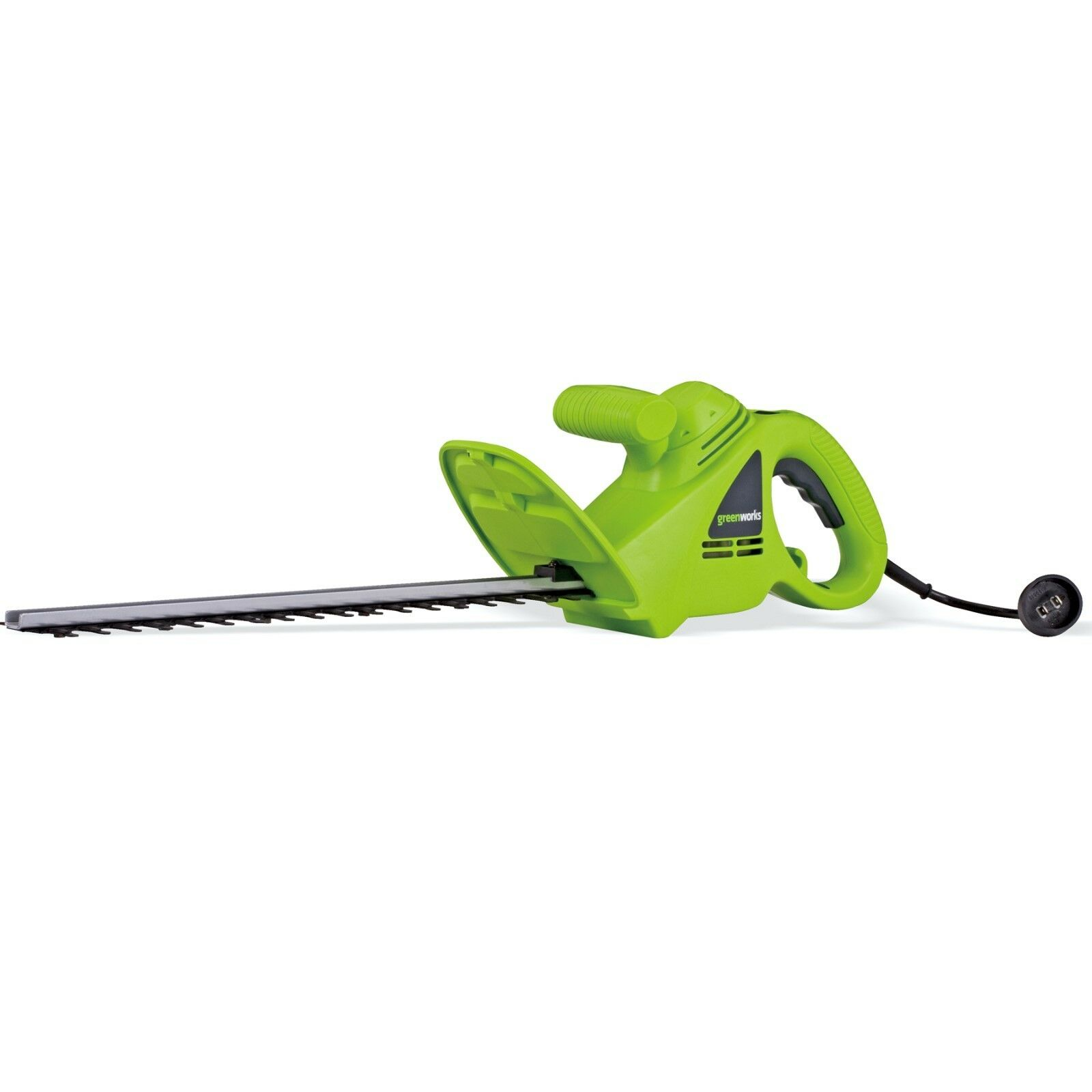 Greenworks 22102 2.7 Amp 18-in Dual Action Electric Hedge Tr