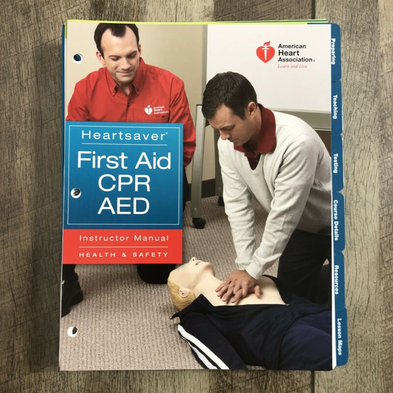 Heartsaver First Aid CPR AED Instructor Manual American Heart Association 2010