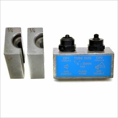 14 Sae Brake Pipe Flaring Flare Tool Punch And Die Single Double Fl07