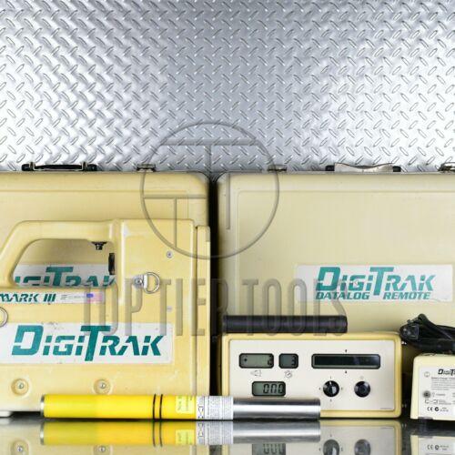 Digitrak Mark III 3 Locator Set for directional drill HDD f5 f2 lt eclipse v iv