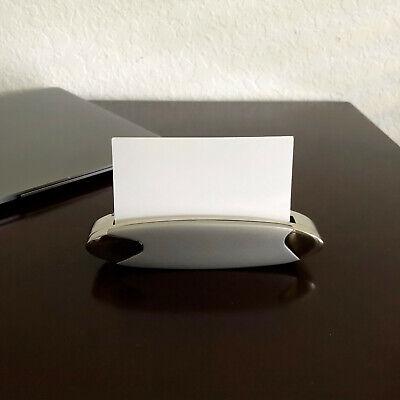 Business Card Holder For Desk - Business Card Display - Office Desk Home Nib