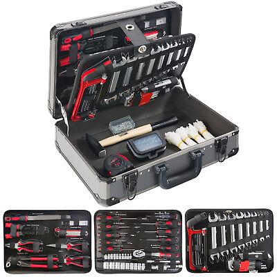 Arebos Werkzeugkoffer 600 tlg Werkzeugbox Werkzeugkiste Werkzeugkasten Werkzeug
