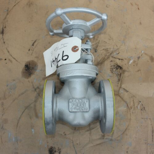 """BONNEY FORGE 121356-0036 1"""" INCH flanged gate valve DN25 25mm Class 150 A105N"""