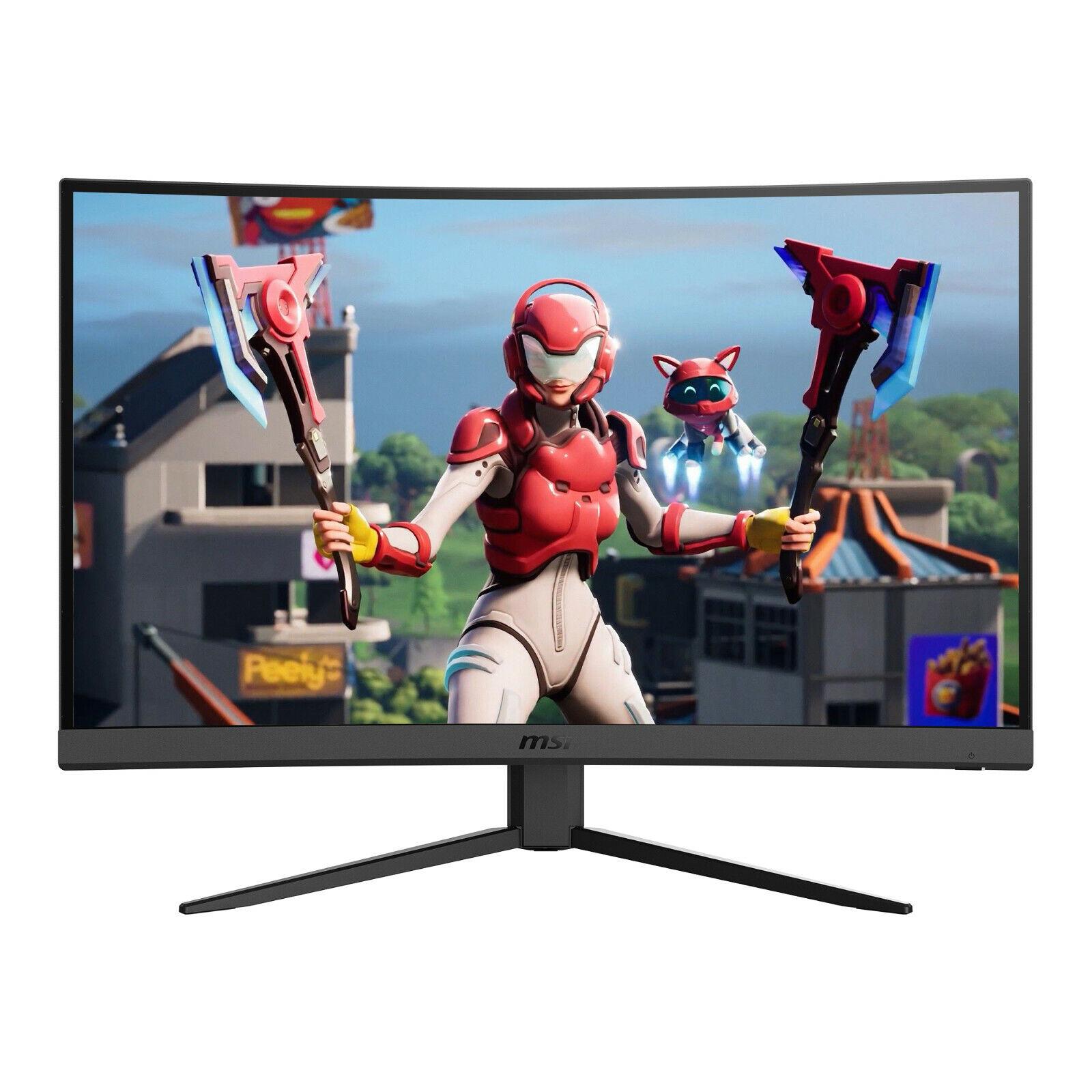 """NEW MSI Optix 27"""" Curved Full HD LCD Gaming Monitor AMD Free"""