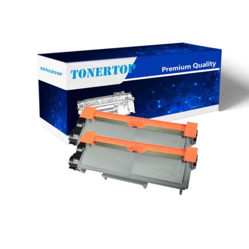 2PK High Yield Black Toner Cartridge For Brother TN660 TN630