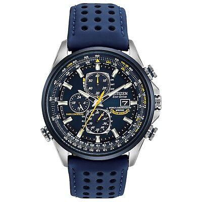 Citizen Eco-Drive Men's Blue Angels Atomic Chronograph 42mm Watch AT8020-03L