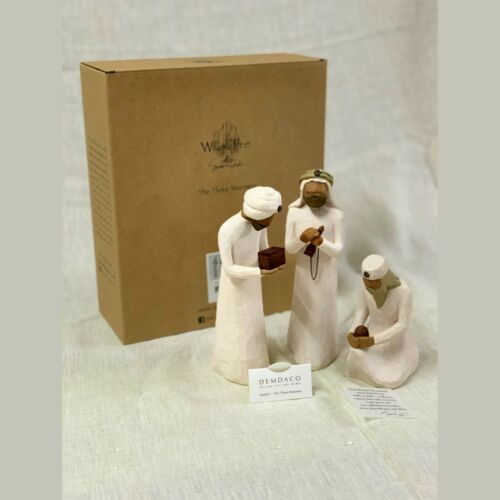 Willow Tree NATIVITY The Three Wisemen_sculpted hand-painted Figures, 26027