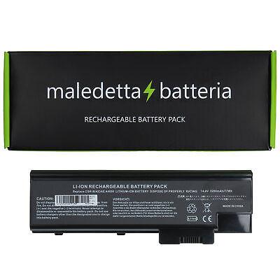 Batteria 14.4-14.8V 5200mAh per Acer Aspire 3630