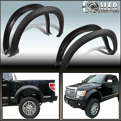 FENDER FLARES FACTORY OE STYLE for 2004-2008 FORD F150 PICK UP  4PCS  NO-DRILL