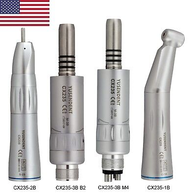 Coxo Dental Contra Angle Air Motor Straight Nose Cone Handpiece Inner Water Nsk