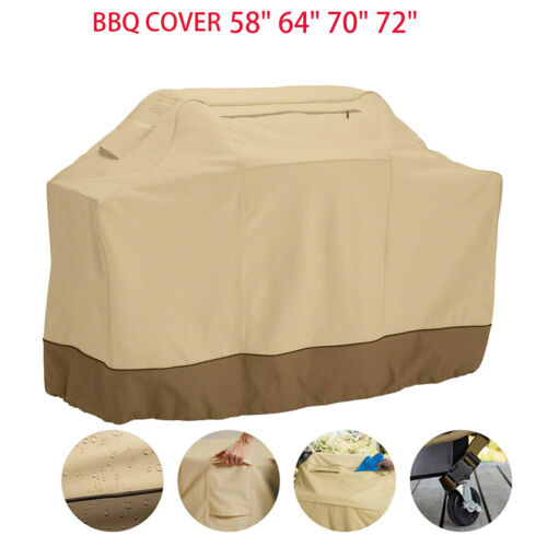 Barbecue Gas BBQ Grill Cover Waterproof Patio Garden Protect