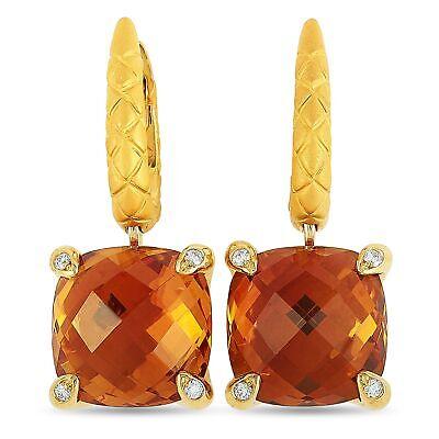 Carrera y Carrera Dragon's Treasure 18K Yellow Gold 0.16 ct Diamond and Madei...