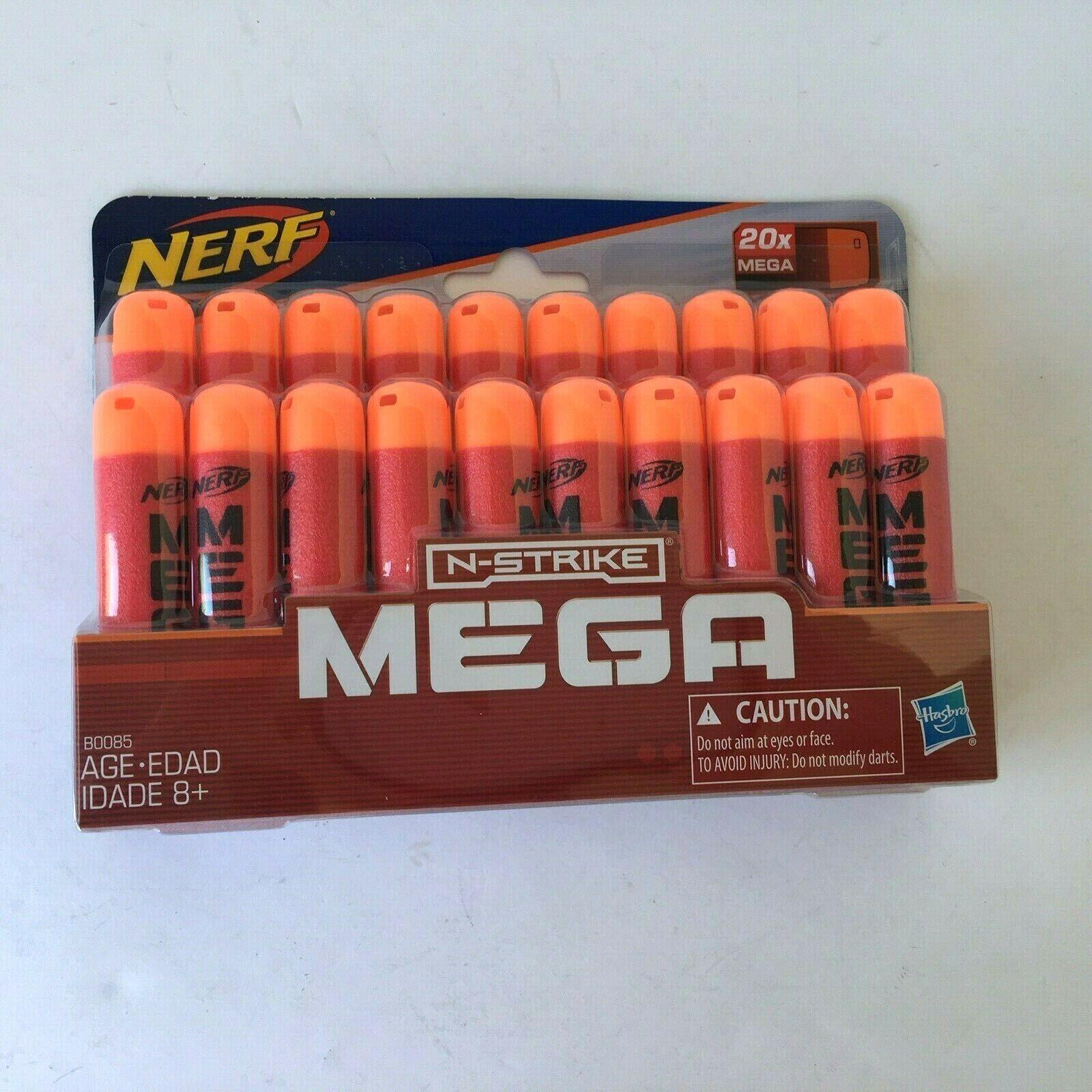 NEW Hasbro NERF N-Strike Mega Dart Refill Pack - 20 Count