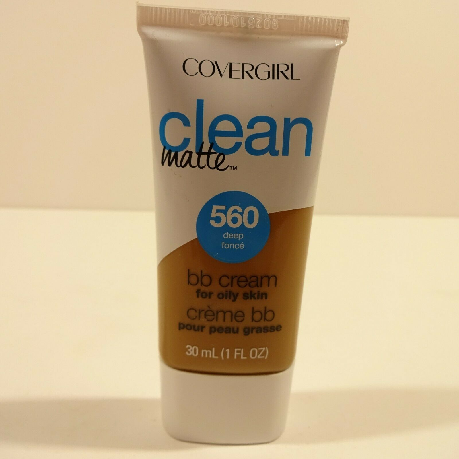 COVERGIRL Clean Matte BB Cream Deep 560 For Oily Skin, 1 oz