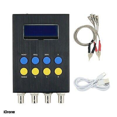 Digital Lcr Bridge Tester Resistance Inductance Capacitance Meter Esr Test Kit