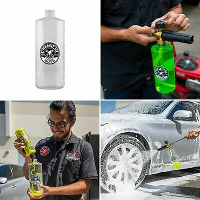 Heavy Duty HD TORQ Foam Cannon Replacement Soap Bottle Large 32 oz Clear Plastic Clear Replacement Foam