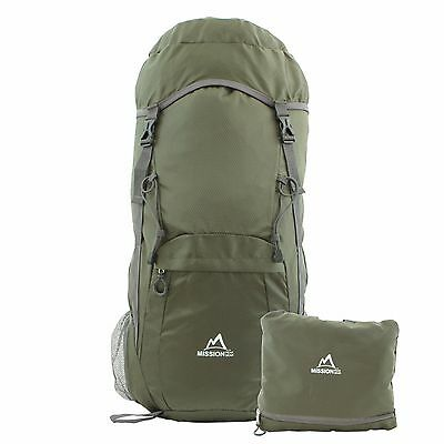 MISSION PEAK GEAR Pace2400 40L Foldable Packable Hiking Backpack Daypack
