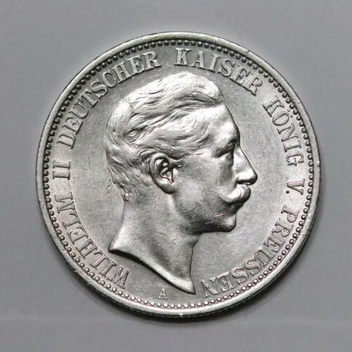 1904-A German Empire Prussia Silver 2 Mark. UNC+ - 442