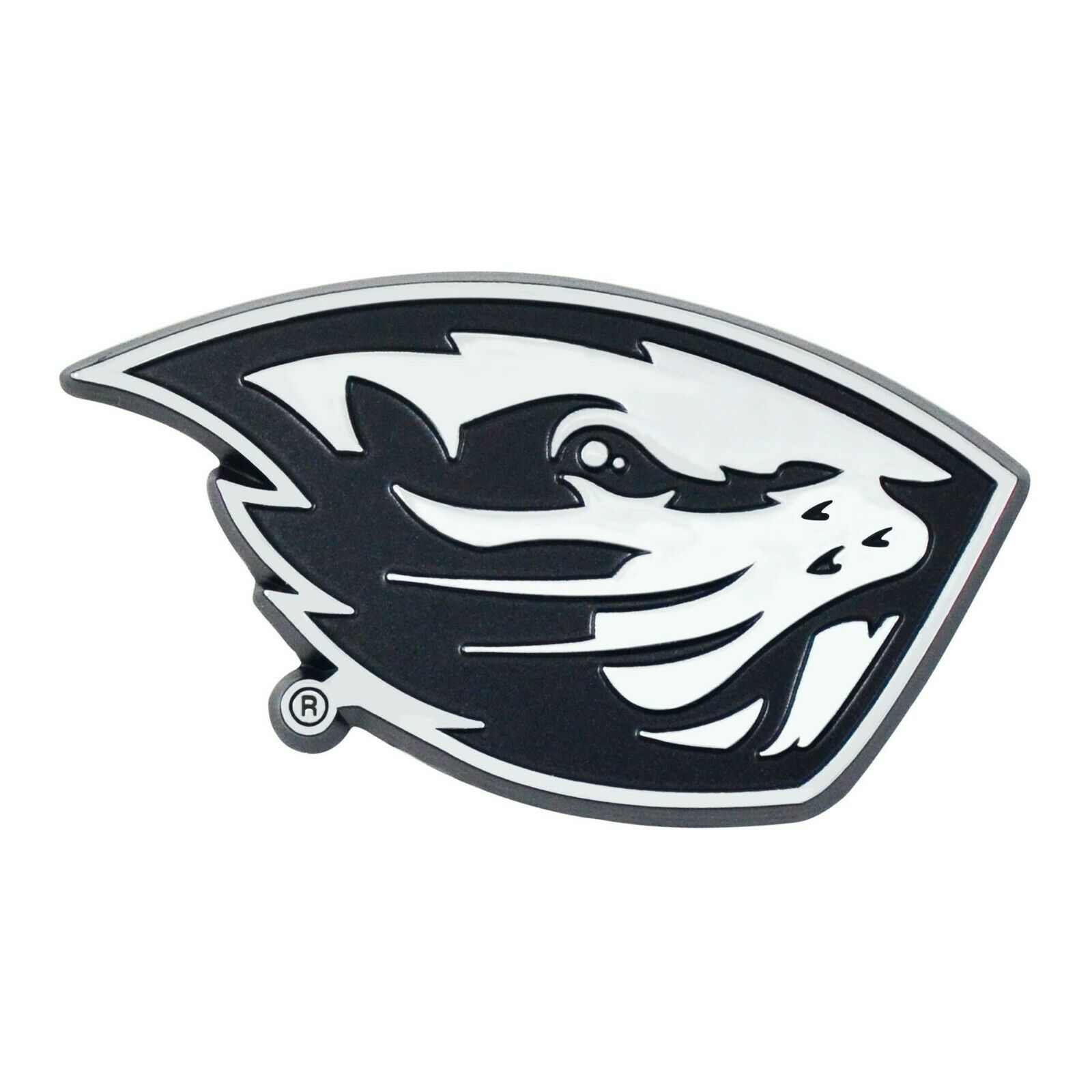 Fan Mats University of Wyoming Color Chrome Car Emblem