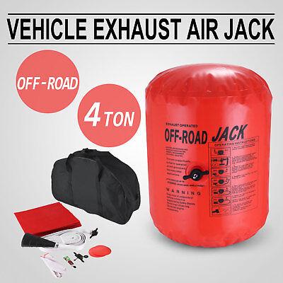 Air Jack Exhaust 4x4 Off Road 4 Tonne multi Tri-Layer Hose extension Anti-Slip