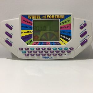 1995 Tiger Electronics Wheel of Fortune Handheld Video Game