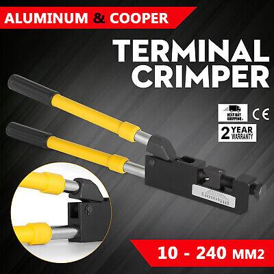 Kh-230 Lug Crimper Tool 8ga-500mcm Battery Terminal Crimper Telescope Handle