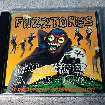 The Fuzztones Monster A-Go-Go CD 1992 13 Spookadelic Halloween Hits