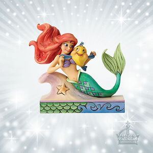 Arielle & Fabius Jim Shore Walt Disney Meerjungfrau Ariel Enesco Mermaid 4054274