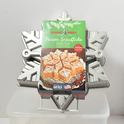 Frozen Cake Pans (Nordic Ware Frozen Snowflake Pull Apart Cake Pan Holiday Collection)