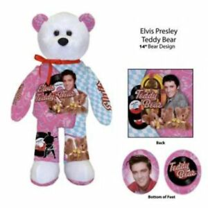 Elvis-Presley-Be-My-Teddy-bear-and-Love-Me-Tender-Collector-Bear-Set