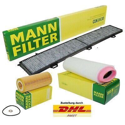Ölfilter Luftfilter Pollenfilter  Dieselfilter BMW E90 E91 E92 320d 184PS