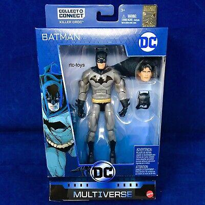 DC Multiverse Batman  Dick Grayson W/Killer Croc BAF Part Action Figure Mattel