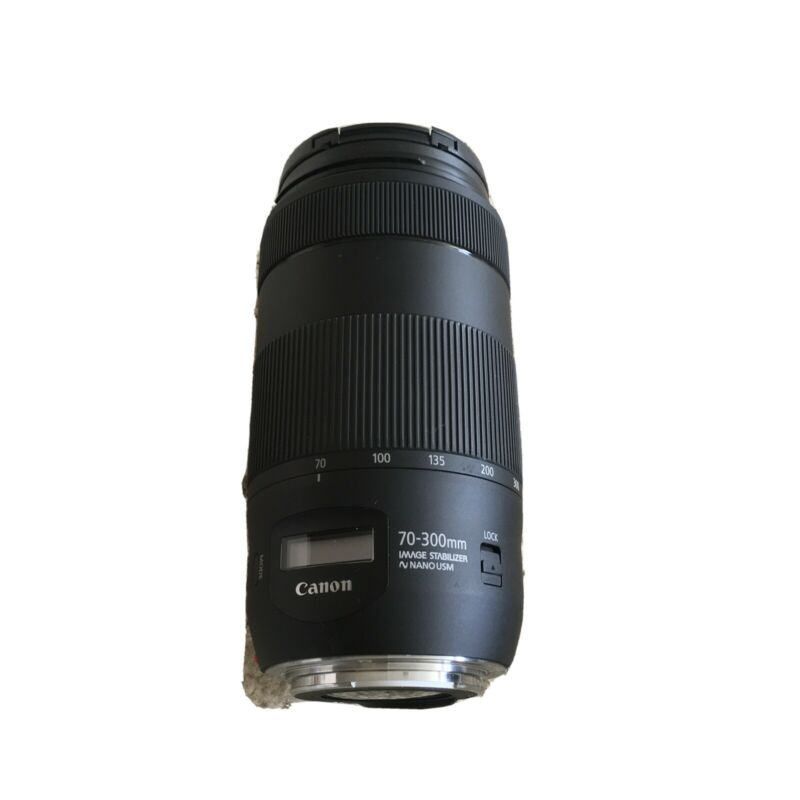 Canon EF 70-300mm f/4-5.6 IS II USM Telephoto Zoom Lens - Black
