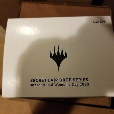 MTG SECRET LAIR: ~~ Sealed ~~ International Women's Day 2020