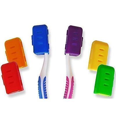 Zahnbürstenabdeckung für Zahnbürstenkopf ~Erwachsene Reisetasche Familienpackung