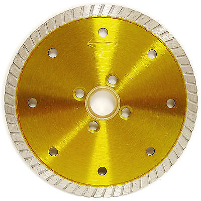 4.5 Granite Turbo Diamond Blade W 4 Screw Holes For Angle Grinders
