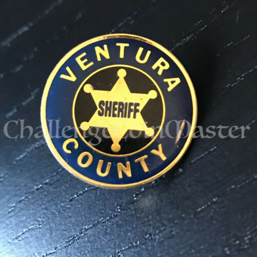 A4 VENTURA COUNTY SHERIFF California LAPEL PIN