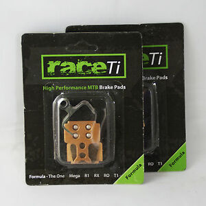 Formula The One Mega R1 RX raceTi Disc Brake Pads Sintered Downhill / hard XC