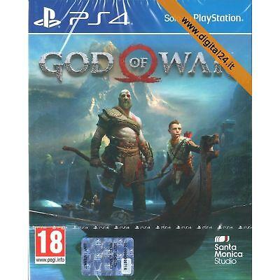 God of War - PlayStation 4 - PS4 - Nuovo e Sigillato