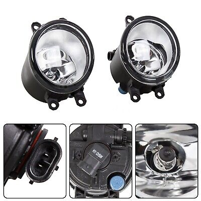 Set For Toyota Camry Corolla Tacoma RAV4 Yaris Clear Fog Light Driving Lamp Halogen Driving Lamp