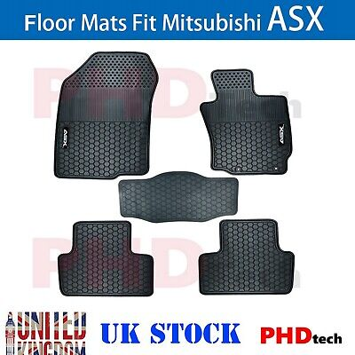 Premium Quality All Weather Rubber Car Floor Mats MITSUBISHI ASX 2010 2019 XA XB
