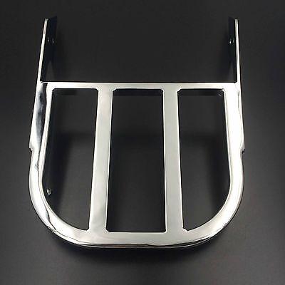 Chrome Sissy Bar Luggage Rack For Honda VTX 1300C/1800C/1800F [Check Fitment]